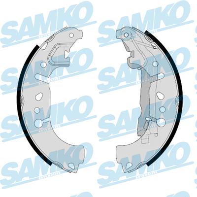 Спирачни накладки SAMKO -81185