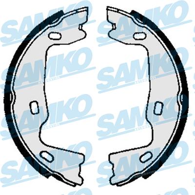 Спирачни накладки SAMKO -82570