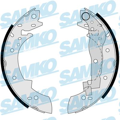 Спирачни накладки SAMKO - 83330