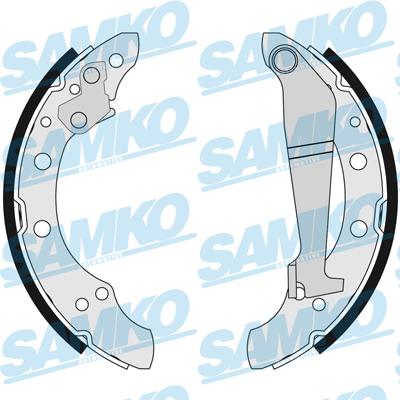 Спирачни накладки SAMKO - 84100
