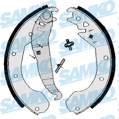 Спирачни накладки SAMKO 84650