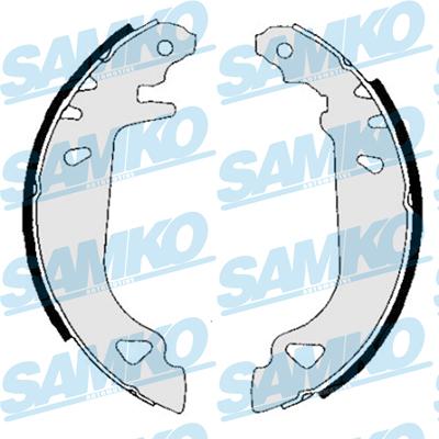 Спирачни накладки SAMKO 84780