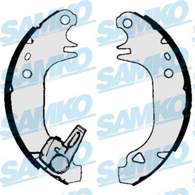 Спирачни накладки SAMKO 84970
