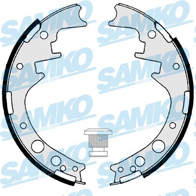 Спирачни накладки SAMKO - 85160