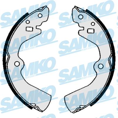 Спирачни накладки SAMKO - 85480