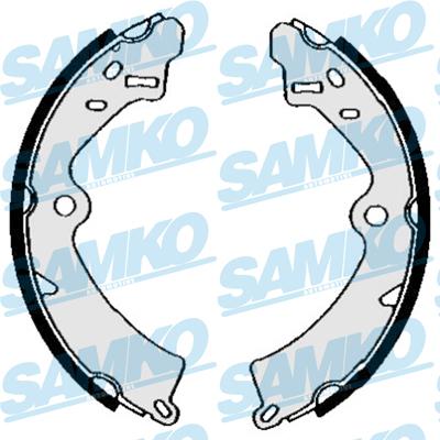 Спирачни накладки SAMKO - 85540