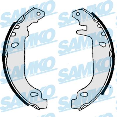 Спирачни накладки SAMKO - 86020