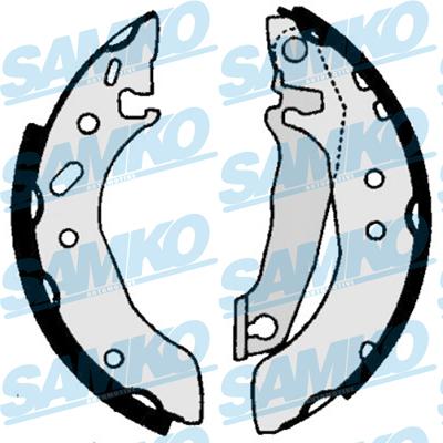 Спирачни накладки SAMKO - 86030