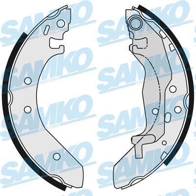 Спирачни накладки SAMKO - 86040