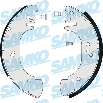 Спирачни накладки SAMKO - 86750