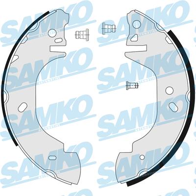Спирачни накладки SAMKO - 86760