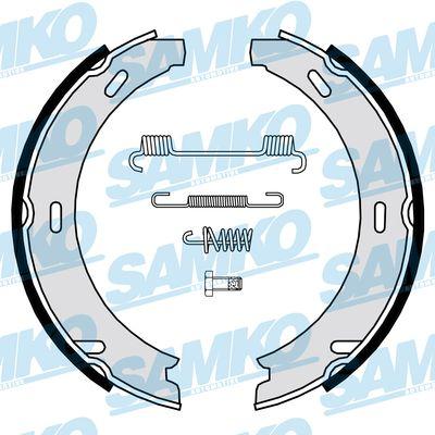 Спирачни накладки SAMKO - 86869