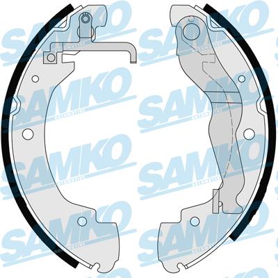 Спирачни накладки SAMKO - 86910
