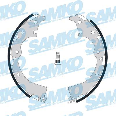 Спирачни накладки SAMKO - 86970