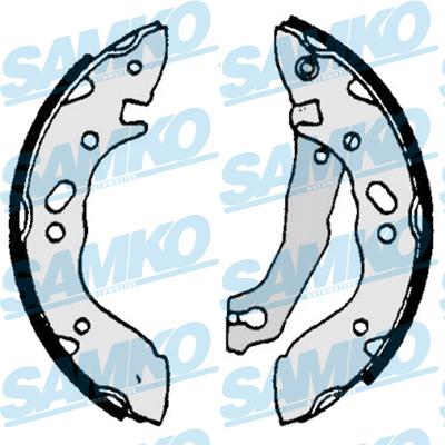 Спирачни накладки SAMKO - 87000