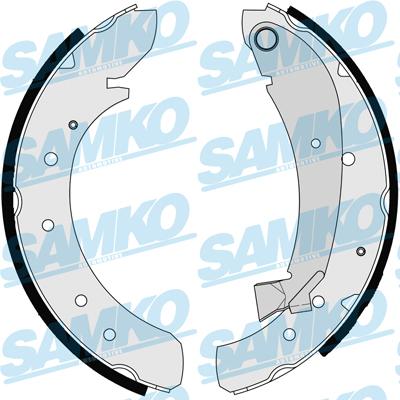 Спирачни накладки SAMKO - 87120