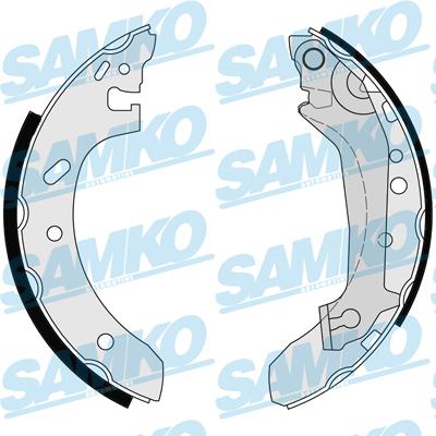 Спирачни накладки SAMKO - 87155