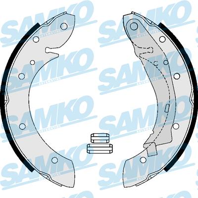 Спирачни накладки SAMKO - 87165