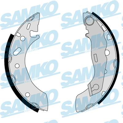 Спирачни накладки SAMKO - 87175