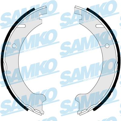 Спирачни накладки SAMKO - 87235