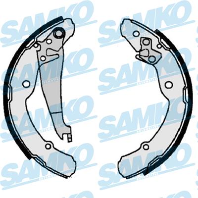 Спирачни накладки SAMKO - 87300