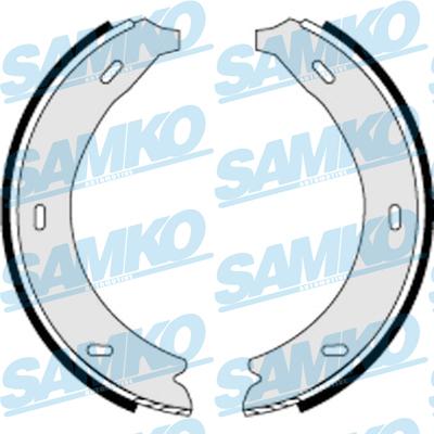 Спирачни накладки SAMKO - 87320