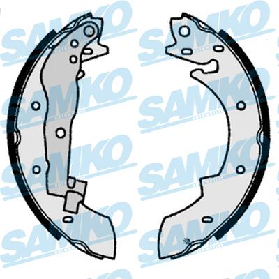 Спирачни накладки SAMKO - 87350