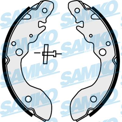 Спирачни накладки SAMKO - 87460