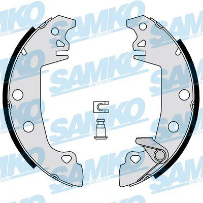 Спирачни накладки SAMKO - 87520