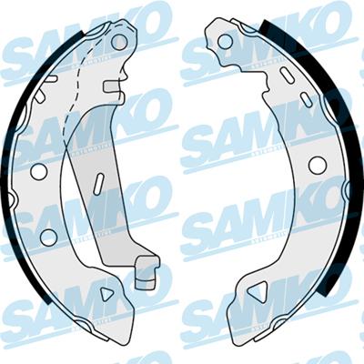 Спирачни накладки SAMKO - 87530