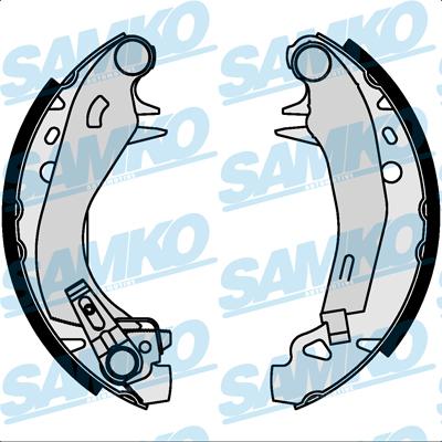 Спирачни накладки SAMKO - 87570