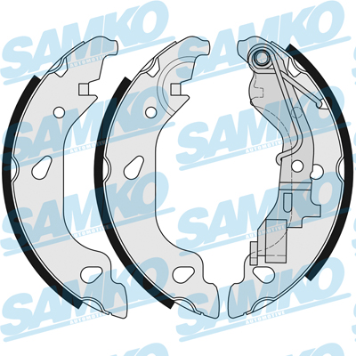 Спирачни накладки SAMKO - 87690