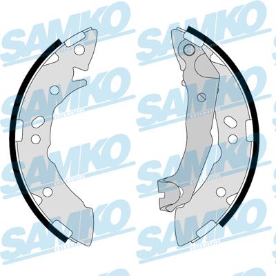 Спирачни накладки SAMKO - 87710
