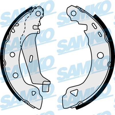 Спирачни накладки SAMKO - 87720