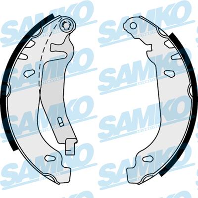Спирачни накладки SAMKO - 87830