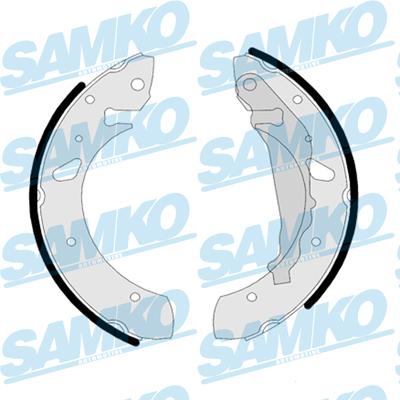Спирачни накладки SAMKO - 87850