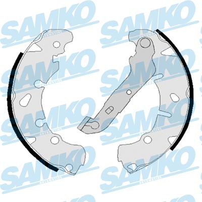 Спирачни накладки SAMKO - 88170