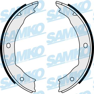 Спирачни накладки SAMKO - 88400