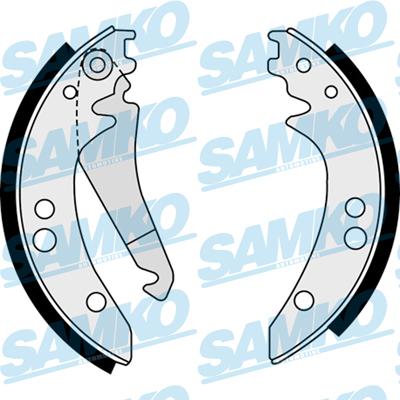 Спирачни накладки SAMKO - 88410