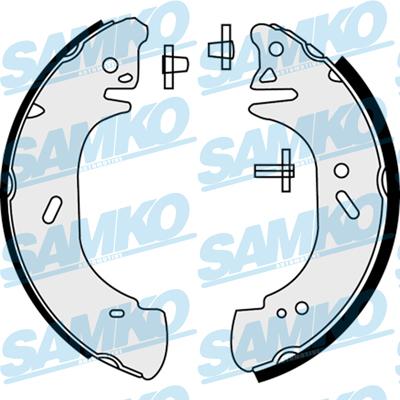 Спирачни накладки SAMKO - 88440