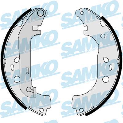 Спирачни накладки SAMKO - 88550