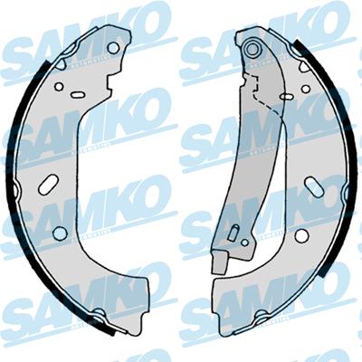 Спирачни накладки SAMKO - 88640