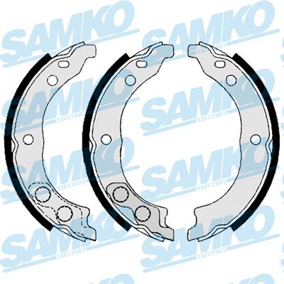 Спирачни накладки SAMKO - 88900
