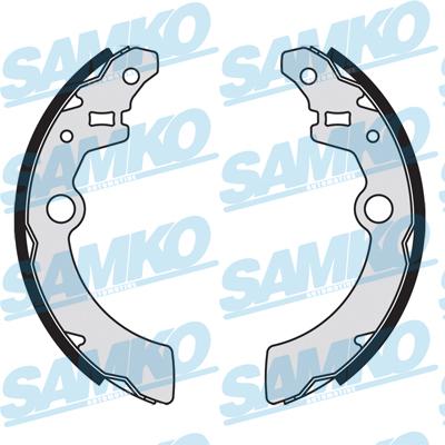 Спирачни накладки SAMKO - 89070