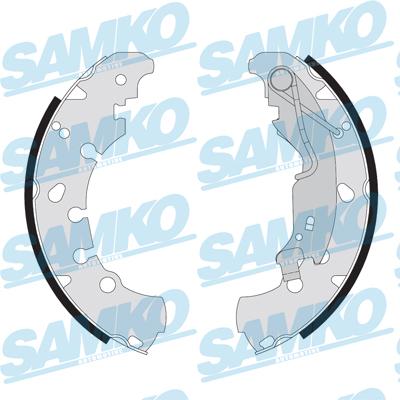 Спирачни накладки SAMKO - 89090