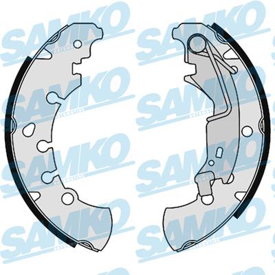 Спирачни накладки SAMKO - 89120