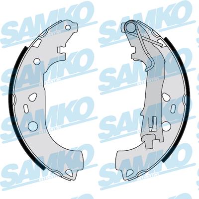 Спирачни накладки SAMKO - 89290