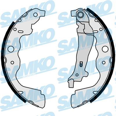 Спирачни накладки SAMKO - 89890