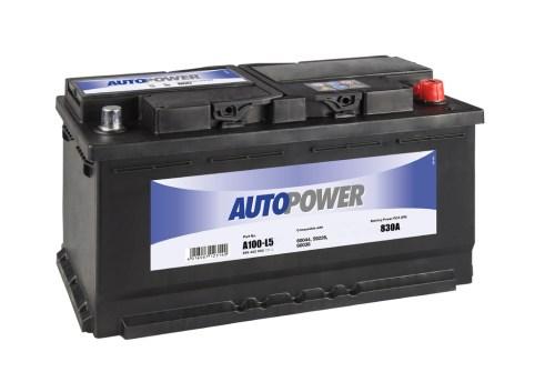 Акумулатор за кола AUTOPOWER 100Ah, 830A R+