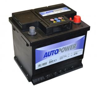 Акумулатор за кола AUTOPOWER 52Ah 470A R+